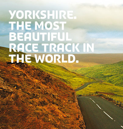 Yorkshire Building Society crowns the region the 'most beautiful race track in the world' in Tour de France sponsorship campaign