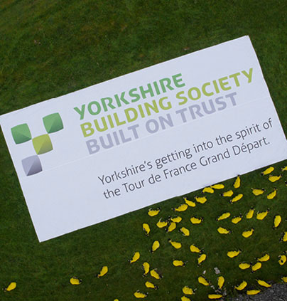 Soul creates Unewesual campaign for Yorkshire Building Society's support of the Tour De France 2014 Grand Départ
